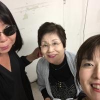 LA嶺志津さんと応援団