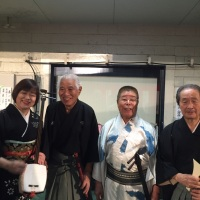 小沢先月先生と市川紫先生