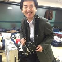 北海道からご苦労様です。初代尺八日本一・佐藤 秀悌さん